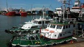 Tuas-Dockyard Lizenzfreie Stockfotos