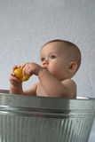 Tub Baby Stock Image