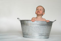 Tub Baby Royalty Free Stock Image