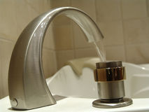 Tub Faucet Royalty Free Stock Photography