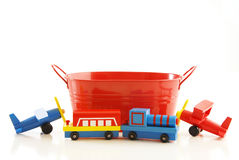 Tub and toys Stock Photography