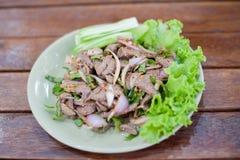 Tub whan. Sweet Liver, Northeastern Thai Popular royalty free stock image