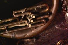 Tuba antigua Imagen de archivo