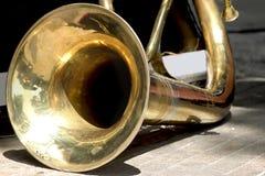 Tuba baixa grande Imagem de Stock Royalty Free