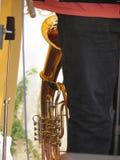 Tuba brass instrument Royalty Free Stock Photos