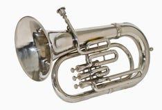 Tuba d'argento Fotografia Stock