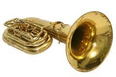 Tuba del instrumento Foto de archivo libre de regalías