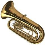 Tuba en laiton Images libres de droits