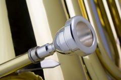 Tuba Mouthpiece Royalty Free Stock Photos