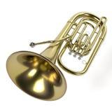 Tuba musical instrument Stock Photography