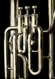 Tuba Valves Royalty Free Stock Photo