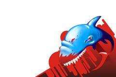 Tubarão! Fotografia de Stock