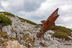 Tubarão de Dachstein fotografia de stock royalty free