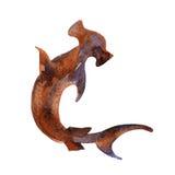 Tubarão de Hammerhead ilustração do vetor