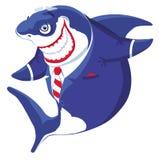 Tubarão do homem de negócios Imagem de Stock