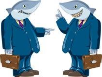 Tubarão do negócio Fotos de Stock