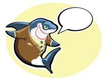 Tubarão do vetor Fotografia de Stock Royalty Free