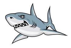 Tubarão dos desenhos animados Fotos de Stock
