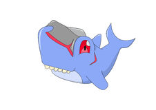 Tubarão pequeno mons Fotos de Stock