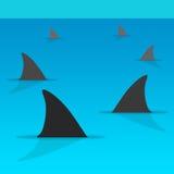 tubarões Fotos de Stock Royalty Free