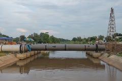Tubatura dell'acqua fotografie stock