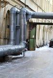 Tubatura dell'acqua calda Immagini Stock