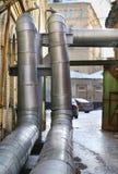 Tubatura dell'acqua calda Fotografie Stock Libere da Diritti