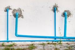Tubatura dell'acqua del PVC Immagine Stock