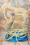 Tubatura dell'acqua e tubo flessibile Fotografie Stock