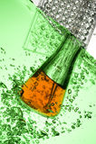 Tube à essai chimique Image stock