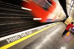 On the tube Royalty Free Stock Photo