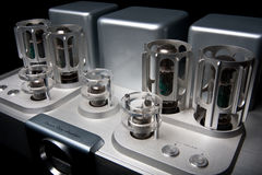 Tube amplifier Royalty Free Stock Images