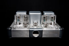 Tube amplifier Royalty Free Stock Photography