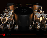 Tube amplifier Royalty Free Stock Photos