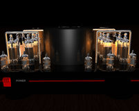Tube amplifier Royalty Free Stock Photo