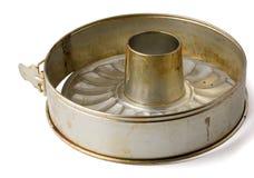 Tube baking pan Stock Image