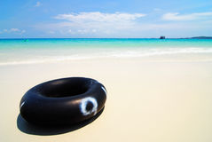 Tube on the beach, Samed Island, Thailand Royalty Free Stock Image