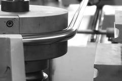Tube bending machine Stock Photos