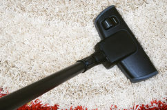 Tube and brush vacuum cleaner Royalty Free Stock Image