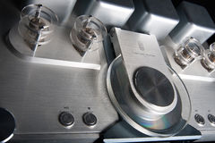 Tube CD player Stock Image