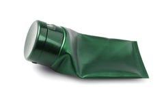 Tube cosmétique en plastique vide Photos stock