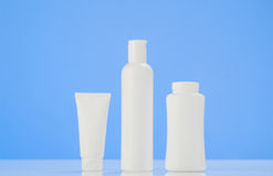 Tube of cream or gel white plastic packaging product mockup Royalty Free Stock Image