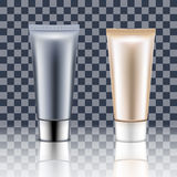 Tube Cream on a Transparent background. Stock Image