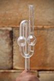 Tube de fermentation image stock