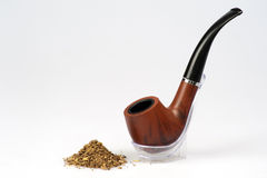 Tube de fumage Photo libre de droits