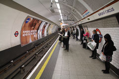 Tube de Londres Images stock
