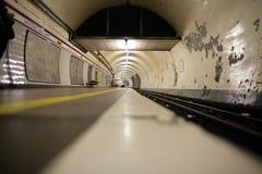 Tube de Londres Photos libres de droits