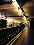 Tube de Londres Images libres de droits