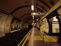 Tube de Londres image libre de droits
