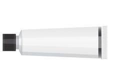 Tube de pâte dentifrice, de crème ou de gel. Emballage de produit Image libre de droits